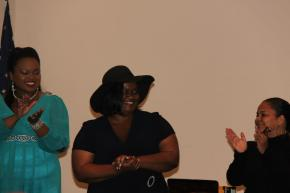 2013 IN HER WORDS Tour Ends at Charles E. Beatley Central Library in Virginia